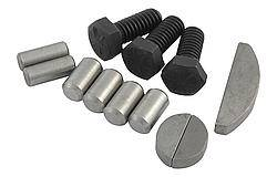 Dura-Bond Bearing Company - Dura-Bond SB Chevy Engine Hardware Finishing Kit - SB Chevy 283-400 w/o Seal Housing