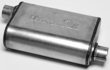 "DynoMax Performance Exhaust - Dynomax Ultra Flo™ Muffler - 2-1/4"" In, Out - 14"" Chamber Length, 19"" Overall Length"