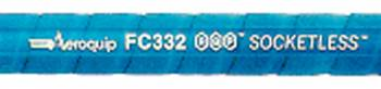 Aeroquip - Aeroquip #04 AQP® SOCKETLESS™ Hose - Blue - 3 Feet