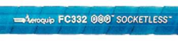 Aeroquip - Aeroquip #06 AQP® SOCKETLESS™ Hose - Blue - 3 Feet