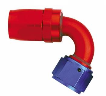Aeroquip - Aeroquip Reusable Aluminum -08 AN 120° Swivel Hose End