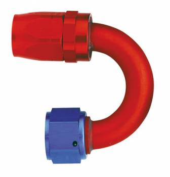 Aeroquip - Aeroquip Reusable Aluminum -10 AN 180° Swivel Hose End