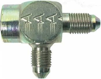 "Aeroquip - Aeroquip Steel Male -04 AN to 1/8"" NPT Female Pipe AN Tee Adaper"