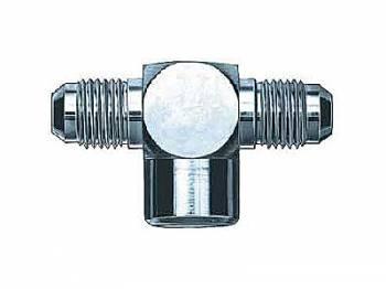 "Aeroquip - Aeroquip Steel Male -06 AN to 1/4"" NPT Female Pipe AN Tee Adapter"