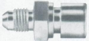 Aeroquip - Aeroquip Steel -04 Male AN to 10mm x 1 Brake Thread Female AN Brake Adapter - (2 Pack)
