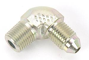 "Aeroquip - Aeroquip Steel 90 -04 Male to 1/4"" NPT Adapter"