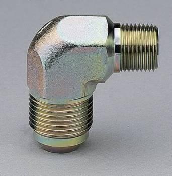 "Aeroquip - Aeroquip Steel 90° -08 Male to 1/4"" NPT Adapter"
