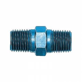 """Aeroquip - Aeroquip Aluminum 1/2"""" NPT Male Pipe Nipple"""