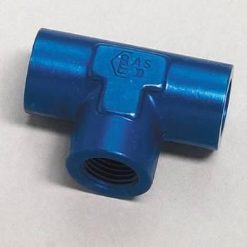 """Aeroquip - Aeroquip Aluminum 1/4"""" NPT Female Pipe Tee Adapter"""