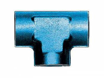 Aeroquip - Aeroquip Aluminum -06 to -06 to -06 Female AN Tee Adapter