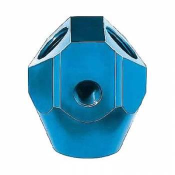 "Aeroquip - Aeroquip Aluminum Fuel Block - 3/8"" NPT, 3/8"" NPT, 1/8"" NPT, 1/2"" NPT Outlets"