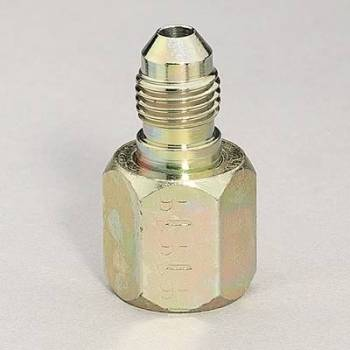 Aeroquip - Aeroquip Steel -08 Female to -04 Male AN Swivel Reducer Adapter