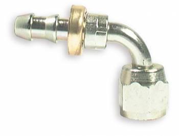 Aeroquip - Aeroquip Steel -08 AN 90° Elbow Swivel Hose End
