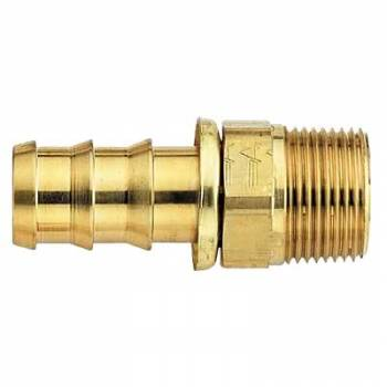 "Aeroquip - Aeroquip Brass SOCKETLESS™ #6 Straight Male Pipe Fitting - 3/8"" NPT"