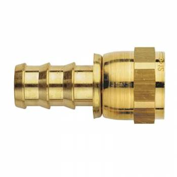Aeroquip - Aeroquip Brass -06 AN Straight AN SOCKETLESS™ Hose End