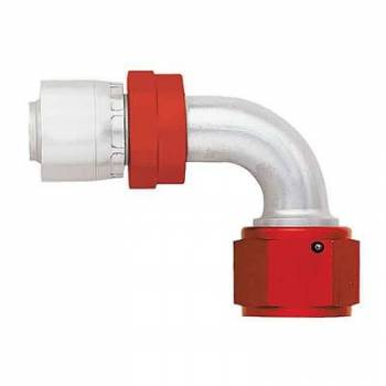 Aeroquip - Aeroquip Lightweight Aluminum -08 AN 90° Crimp Swivel Hose End