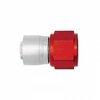 Aeroquip - Aeroquip Lightweight Aluminum -08 AN Straight Crimp Swivel Hose End