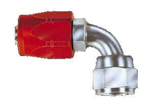 Aeroquip - Aeroquip Reusable Steel -04 AN 90° Non-Swivel Hose End