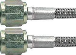 "Aeroquip - Aeroquip -04 AN Teflon® Brake Hose - 18"" - Straight, 90° Ends"