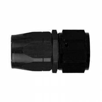 Aeroquip - Aeroquip Black Reusable Aluminum -12 AN Straight Swivel Hose End