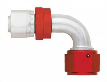 Aeroquip - Aeroquip Lightweight Aluminum -20 AN 90° Crimp Swivel Hose End