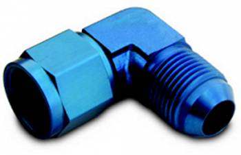 A-1 Performance Plumbing - A-1 Performance Plumbing -03 AN Male to -03 AN Female 90° Swivel Coupler