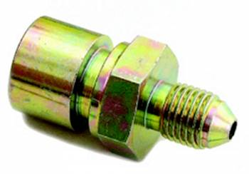 A-1 Performance Plumbing - A-1 Performance Plumbing -04 AN to 10 x 1.0mm Female Inverted Flare Steel Adapter