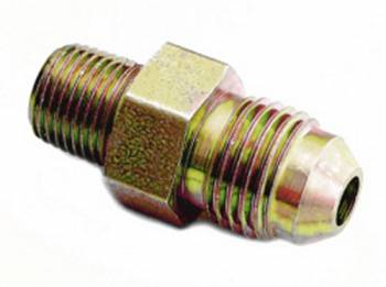 "A-1 Performance Plumbing - A-1 Performance Plumbing -04 AN Flare to 1/8"" NPT Steel Adapter"