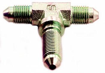 A-1 Performance Plumbing - A-1 Performance Plumbing -03 AN Flare Steel Bulkhead Branch Tee Adapter