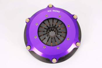 "Ace Racing Clutches - Ace Racing 7.25"" Button Clutch Assembly - 2 Disc - 1-1/8"" x 10 Spline"