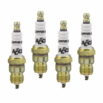 Accel - Accel U Groove Shorty Spark Plug - 0276S (4 Pack)
