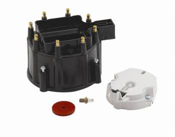 Accel - Accel GM HEI Cap & Rotor Kit - Heavy Duty Black