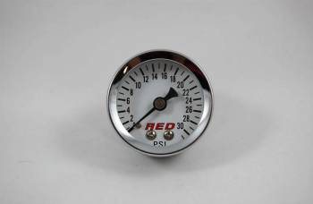 "AED Performance - AED 1.5"" Screw-In Fuel Pressure Gauge - 0-30 PSI"