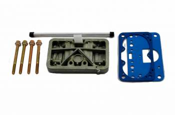 AED Performance - AED Holley Carb Metering Block Conversion Kit - Fits Holley 450-600 Side Pivot Bowls
