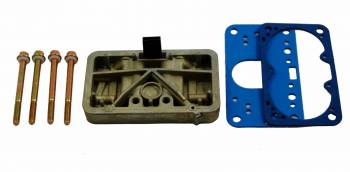 AED Performance - AED Holley Carb Metering Block Conversion Kit - Fits Holley 3310 or Any Center Pivot Bowls