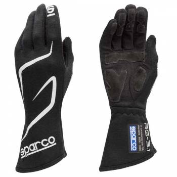 Sparco Land RG-3.1 Auto Racing Glove - Black - 001308NR