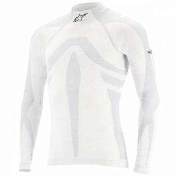 Alpinestars 2016 ZX Evo LS Underwear Top - White/Gray