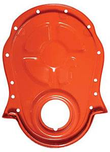 Trans-Dapt Performance - Trans-Dapt Timing Chain Cover - Powder Coated Orange