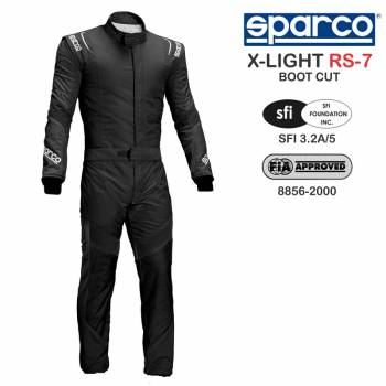 Sparco X-Light RS-7 Boot Cut Suit 001108US