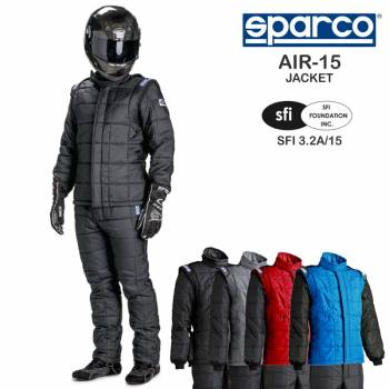 Sparco AIR-15 Drag Racing Jacket 001102X15J