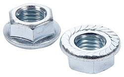 "Allstar Performance - Allstar Performance Serrated Flange Nuts - 5/8""-11 - 10 Pack"