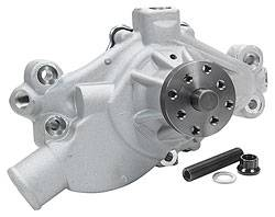 "Allstar Performance - Allstar Performance SBC Corvette Style Water Pump 1971-82 - 3/4"" Shaft w/ Bypass Ports And Cam Stop Hardware"