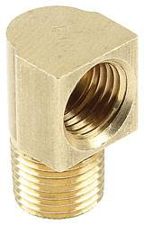 "Allstar Performance - Allstar Performance Inverted Flare Fitting 3/16"" To Male 1/8""-27NPT 90 Degree"