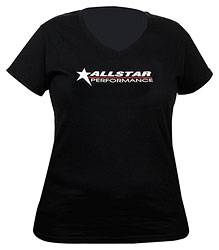 Allstar Performance - Allstar Performance T-Shirt Ladies Black V-Neck Large