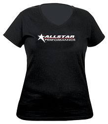 Allstar Performance - Allstar Performance T-Shirt Ladies Black V-Neck Medium