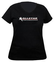 Allstar Performance - Allstar Performance T-Shirt Ladies Black V-Neck Small