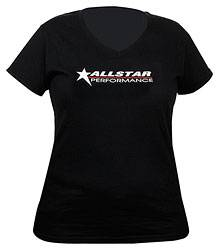 Allstar Performance - Allstar Performance T-Shirt Ladies Black V-Neck X-Large