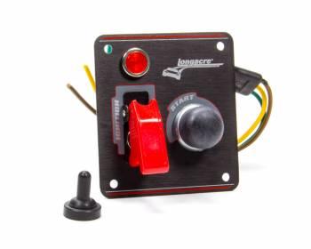 Longacre Racing Products - Longacre Ignition Panel Black w/Pilot Light