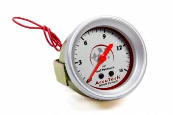 Longacre Racing Products - Longacre Fuel Pressure Gauge 0-15 PSI AccuTech Sportsman