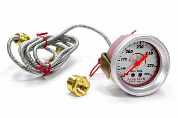 Longacre Racing Products - Longacre Water Temp Gauge 100-280 Degrees AccuTech Sprtsman
